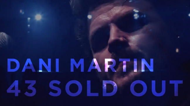 dani martin 43 sold out